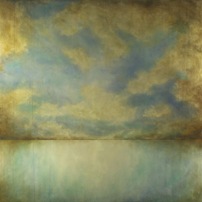 Viridian Reflection 48%22 x 48%22
